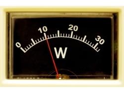 アナログ電気メーター