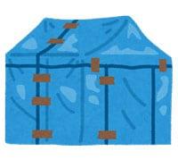 イラスト/粗悪なテントのイメージ