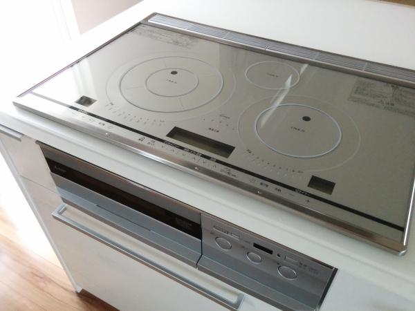 三菱電機『びっくリングIH』を設置した我が家のキッチン