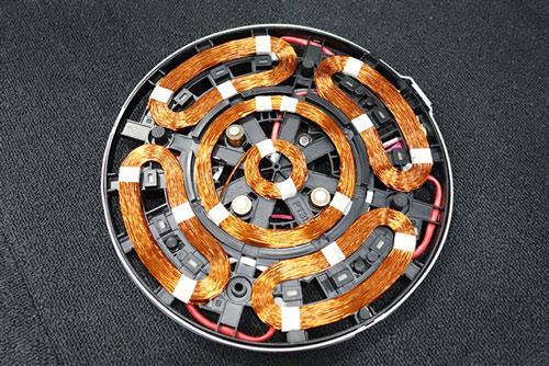三菱電機『びっくリングIH』のコイル
