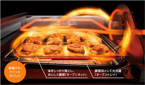 三菱電機のびっくリングIHオーブングリルのイメージ画像