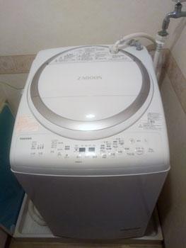 東芝 タテ型洗濯乾燥機 AW-8V6 S