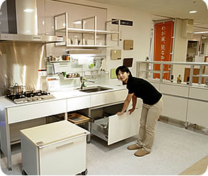 システムキッチン「ideco(アイデコ)」