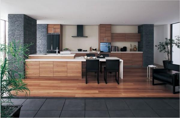 Panasonicのカッコいいキッチン「リビングステーション NEW L-class」
