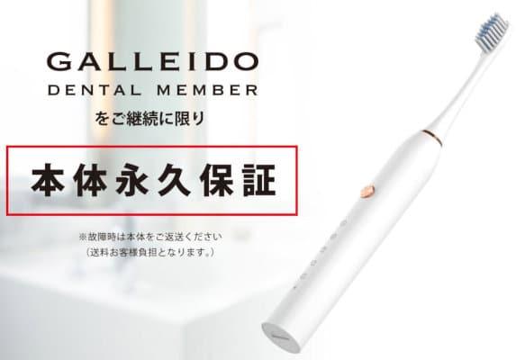 SIKI株式会社『電動歯ブラシ GALLEIDO DENTAL MEMBER』