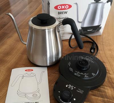 OXOの電気カフェケトル